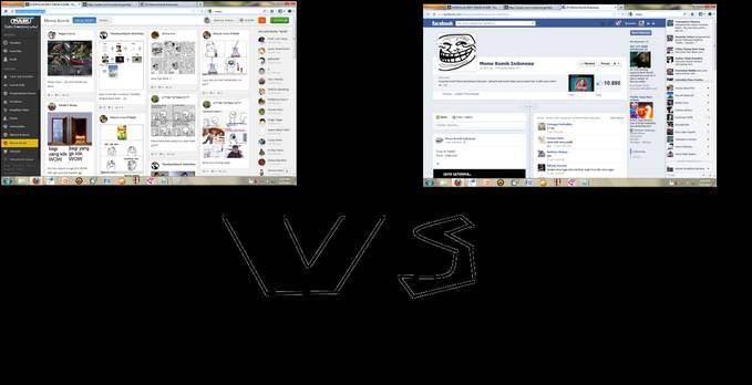 coba siapa yg akan menang? Meme Komik(http://pulsk.com/meme-komik) VS Meme Komik Indonesia(http://www.facebook.com/MemeCentralIndonesia?ref=ts&fref=ts) dukung meme komik indonesia : COMMENT dukung meme komik : KLIK WOW