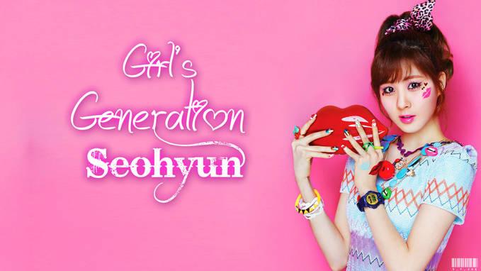 SNSD Seohyun Casio Baby-G,Unyu..