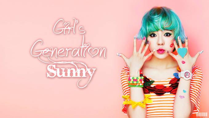 SNSD Sunny Casio Baby-G, imutnya..