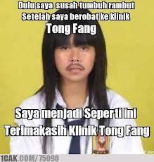 wkwkwkwkkwk terima kasih klinik Tong Fang...!!