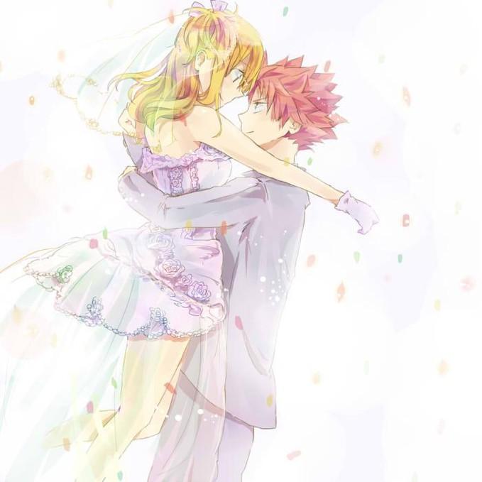 ini dia jadinya kalo pas Natsu and Lucy Wedding !! :D