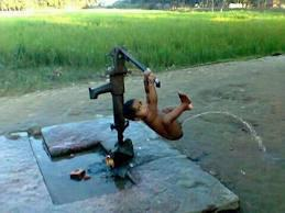 pompa air alami !!