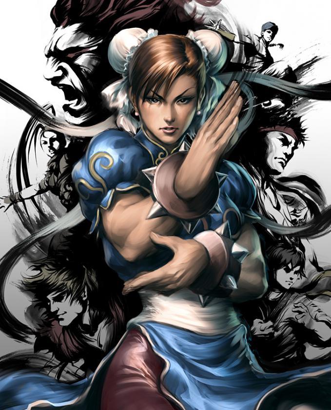 Chun-li, jagoan cewek favorit gue! ada yang suka maen game street fighter?