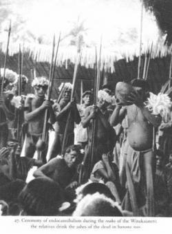 Praktek Memakan Tubuh Mayat Sebagai Ritual Pemakaman