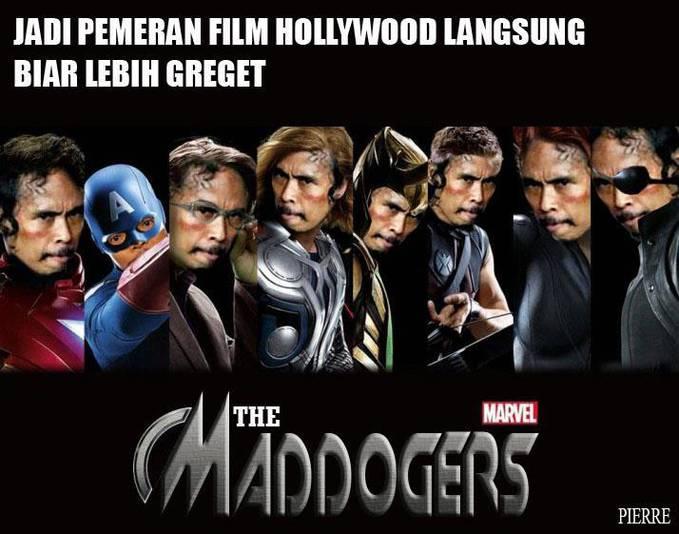 pemeran hollywood versi mad dog :D