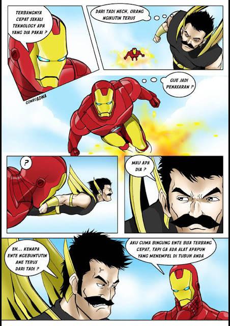 hahahahahahha IRON Man
