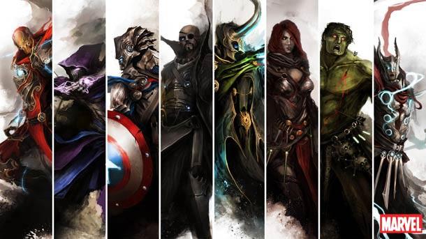 beginilah model the avengers di abad pertengahan... WOW WOW WOW..