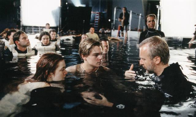 waduuuh ternyata beginilah model pembuatan film Titanic... WOW