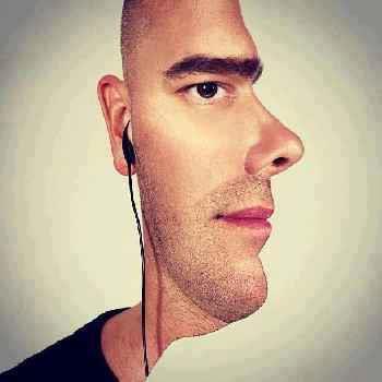 Gambar Yang Aneh Dan Membingungkan..?? Sebenarnya wajahnya ini Hadapan nya ke arah mana sihh.. Ke samping atau kee depan.? Ada Yng Bisa NgeJawab. Klik Wow nya yaa.. !!