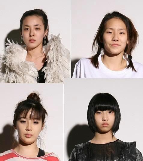 2NE1 tanpa make up - amaze liat CL. asli beda banget