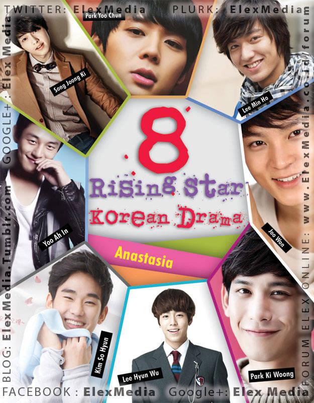 Bagi pecinta drama Korea pasti tidak asing lagi dengan 8 bintang drama Korea ber-rating tinggi ini! 8 RISING KOREAN DRAMA STARS http://ow.ly/juts8