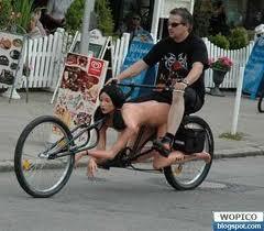 Inilah Sepeda Yang Mendunia Di Luar Negri Dengan Jok Cewe Nungging.
