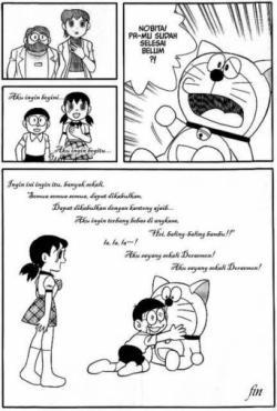 Bab & Kisah terakhir Doraemon.