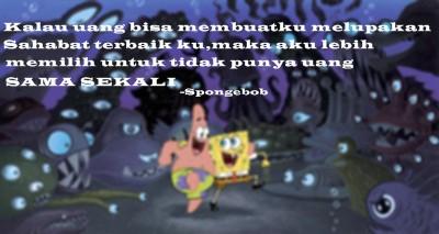 Spongebob and Patrick :)