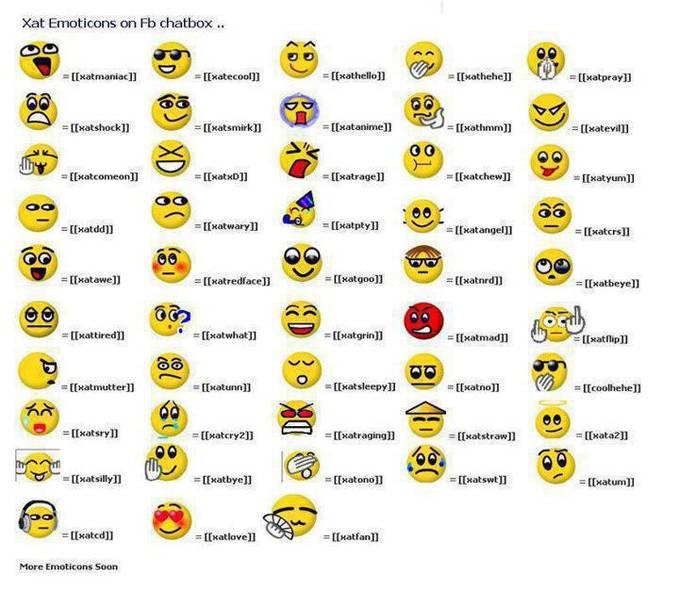 ini dia kode smile buat fb ;)