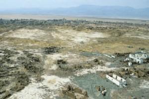 ini adalah tempat yang memiliki Suhu terpanas yang pernah tercatat di bumi adalah di Al 'Aziziyah, Libya. Rekor suhu terpanas yang dicatatkan tempat tersebut adalah 57,8 ° C.