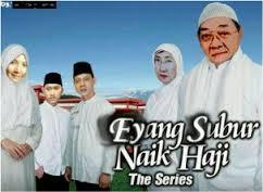 eyang membuat film baru yang berjudul Eyang Subur Naik Haji