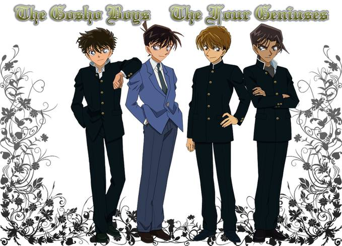 The four genius men: me and my friend LOLXD