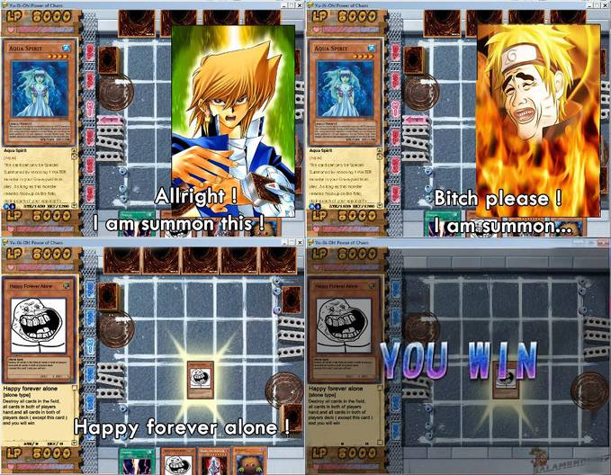 Summon Happy Forever Alone !