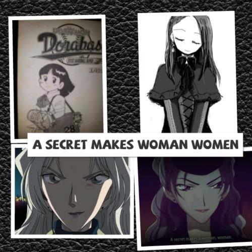 A SECRET MAKES WOMAN WOMEN
