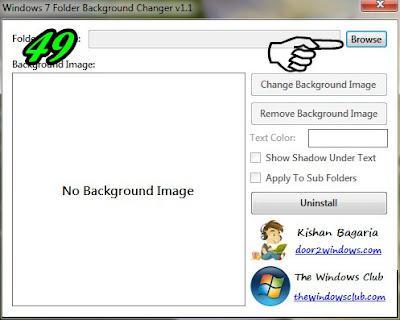 Cara Membuat Memberi Background Pada Folder Komputer | Read More...Cara Membuat Mengubah Background Pada Folder Komputer
