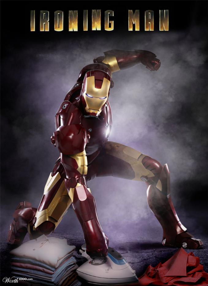 sungguh targis nasibmu pak iron man. mungkin karena stark corp sudah di jual kali ya. :(
