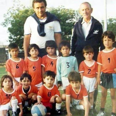 dari gambar diatas ada pemain bola terkenal,, yaitu Linel Messi, tebak nomor berapakh Dia???