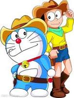 TenLibrary - Tentu Anda tau kan dengan film kartun Doraemon ?. Doraemon sering ditayangkan di RCTI pada hari minggu. Tapi ada yang tau gak sih awal mula kisah pertemanan Doraemon dan Nobita ?. Sebagian ada yang tau dan sebagian ada yang tidak pastinya. Doraemon merupakan kartun jepang yang diterbitkan pada Desember 1969. Sedangkan di Indonesia, kartun Doraemon sendiri telah di terbitkan pada 1974 di TVRI dan baru ditayangkan di RCTI pada 1990. Misi dari Doraemon sendiri adalah memperbaikin masa depan Nobita. Kehidupan awal Doraemon tidak begitu baik. Awalnya Doraemon merupakan sebuah robot kucing yang diproduksi untuk mengurus masalah rumah tangga, salah satunya mengurus bayi. Bentuk fisik Doraemon sendiri awalnya seperti robot kucing lainnya. Yaitu berwarna kuning dan memiliki sepasang telinga. Namun pada proses penciptaannya, Doraemon mengalami nasib sial. Doraemon tanpa sengaja tersengat listrik bertegangan tinggi. Energi listrik itu tercipta dari pantulan tembakan polisi yang pada saat itu sedang mengejar penjahat. Karena begitu tingginya tegangan listrik, tubuh Doraemon bergetar hebat dan akhirnya satu sekrup copot dari tubuh Doraemon. Kemudian Doraemon jatuh dari pabrik yang memproduksinya. Pabrik tersebut terletak diatas awan. Doraemon jatuh dan terbentur benda keras beberapa kali dan akhirnya mendarat di tempat pembuangan sampah. Dari kecelakaan itu, Doraemon menjadi berbeda dengan robot lainnya. Sistem programnya ERROR. Semua intruksi yang dia perintah terhadap kantong ajaibnya selalu salah. Dan hal tersebut menjadikan Doraemon sebagai robot second class. Saat berlangsungnya penjualan robot. Doraemon merupakan satu - satunya robot yang tidak disukai oleh pengunjung. Tidak ada yang mau membelinya. Tapi walaupun begitu, akhirnya ada yang mau membelinya dirinya yaitu cicit Nobita yang bernama Sewashi Nobita. Keputusan orang tua Sewashi Nobita membeli Doraemon karena keadaan ekonomi rendah sehingga hanya mampu membeli robot second class. Ketika Doraemon menjadi