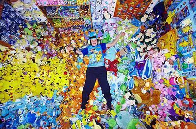 Lisa Courtney mengoleksi pernak pernik yang berhubungan dengan Pokemon,koleksinya telah masuk Guinness World Records pada tahun 2010,edisi Gamers.Sampai saat ini koleksi Lisa Courtney telah mencapai 12.113 buah.WoWnya PULSKER!