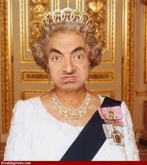 akankah ratu inggris jadi begini??