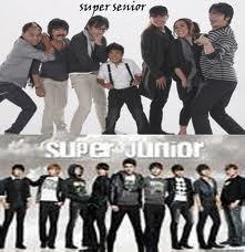 SUPER SENIOR VS SUPER JUNIOR PILIH MANA INI KALAU SUPER SENIOR KLIK WOW KALAU SUJU COMMENT