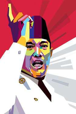 Sukarno - Bapak Banga Indonesia
