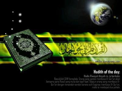 AL-QURAN yang menjadi petunjuk sekalian alam diturunkan pada Ramadan yang mulia dan dalam setiap keadaan, umat Islam wajib mencari penyelesaian bersandarkan al-Quran dan hadis kerana penyelesaian sesuatu perkara sebenarnya sudah digarap oleh a