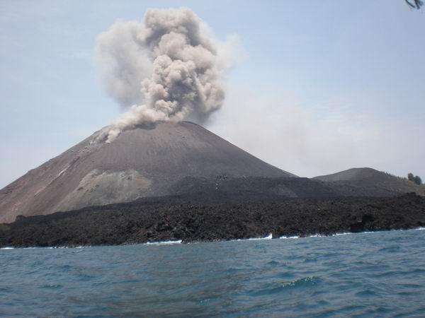 Gunung Anak Krakatau, Jawa Barat