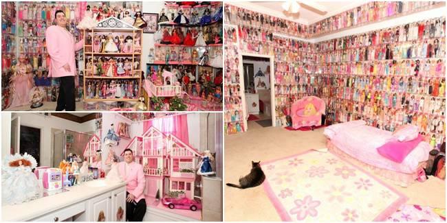 Stanley Colorite, Pria Kolektor Barbie Yang Wow Banget Koleksinya