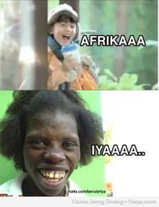 AFIKA VS AFRIKA.. Hahaha