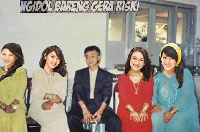 Istri baru Eyang Subur dari JKT48. wkwkwk
