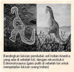 Bukti-Bukti Bahwa Manusia Pernah Hidup Bersama Dinosaurus