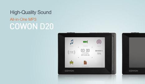 Cowon D20: MP3 player yang bisa memutar musik 90 jam nonstop mana w0w nya