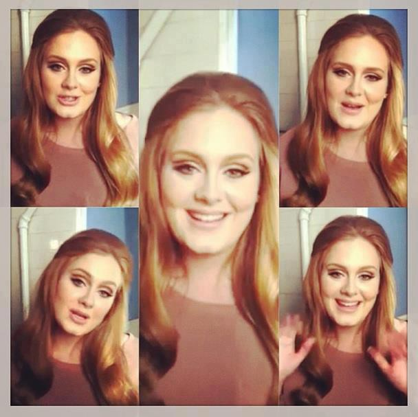 Adele :) Pemenang Best Original Song Di Ajang OSCAR ( academy Award ).. Minta WOW nya Ya :) hehehe
