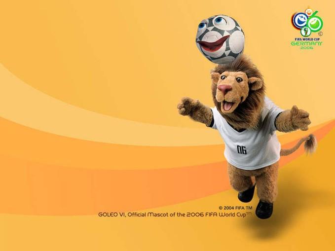 wow apakah akmu ingat dengan gambar ini ? ini adalah maskot piala dunia 2006 yg diadakan di germany. kilik wow nya dong