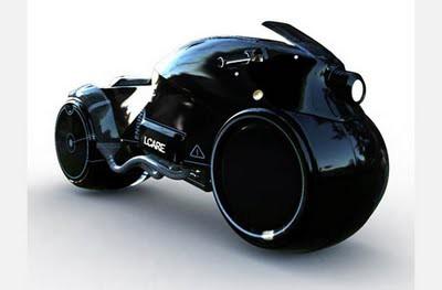 Motor masa depan Icare Bike Concept Kalau merujuk pada desain untuk motor Batman, mungkin inilah yang paling mendekati. Icare tidak hanya suatu konsep yang super keren, tapi juga sebuh desain nyata yang bisa dibuat. Ditenagai oleh mesin Honda