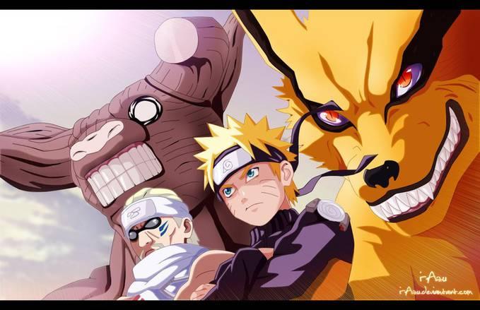 Bee and Hachibi dan Naruto and Kurama *gimana menurut kalian kedua Jinchuuriki ini?