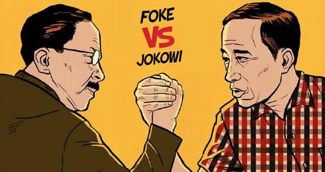 wah... kalo pak jokoqi dan fauzi bowo adu panco yg menang siapa yah ? Jngan lupa sob wow nya !!