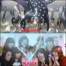 CherryBelle PLAGIAT Girls Generation