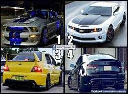 choose one ?? what car is perfect for you ??