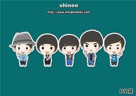 Shinee versi kartun