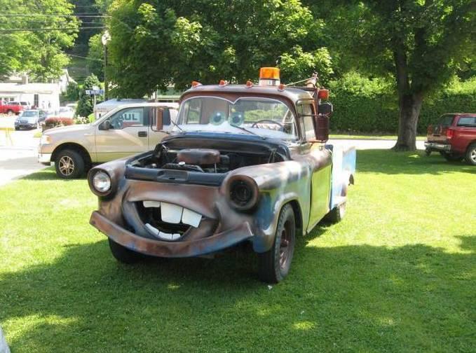 mobil di film CARS jg ad di dunia nyata