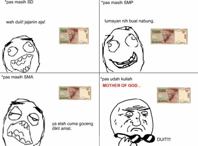 hahaha ,,, ksian nggx naik uang jajan nya ... agr naik klik WOW ya ...