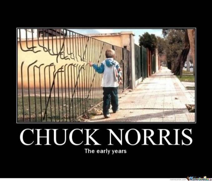 Chuck Norris bos ngerriii